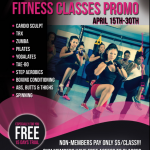 Classes Promotion April 2016